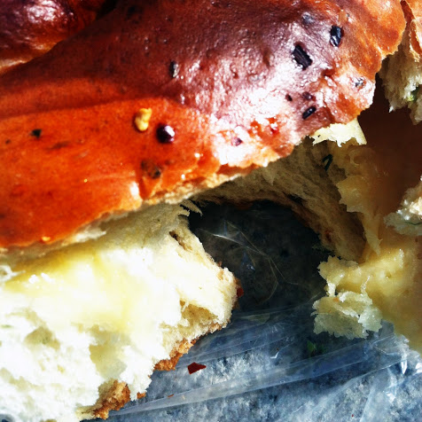 Hot & spicy cheese bread