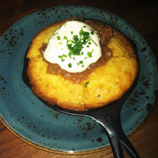 Skillet cornbread, Carriage House