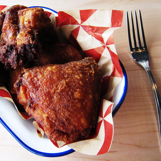 The namesake fried chicken
